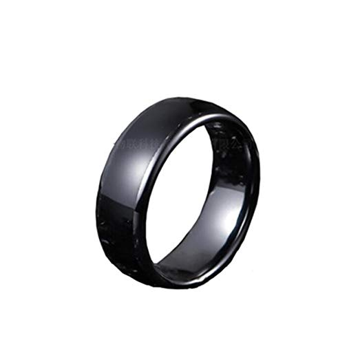ZJH Smart NFC RFID Ring: Door Access, Manage NFC Android Devices and APPs,  Ceramic Smart Smart Wear Ring for Men and Women,12