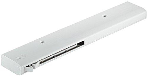 Einzugsdämpfung Smuso CD für Schiebetüren Endlagendämpfer mit Selbsteinzug für Türen   Türdämpfung für Türflügelgewicht 50 kg   Kunststoff grau   1 Set - Soft-Closing Dämpfung für Schiebetürsysteme