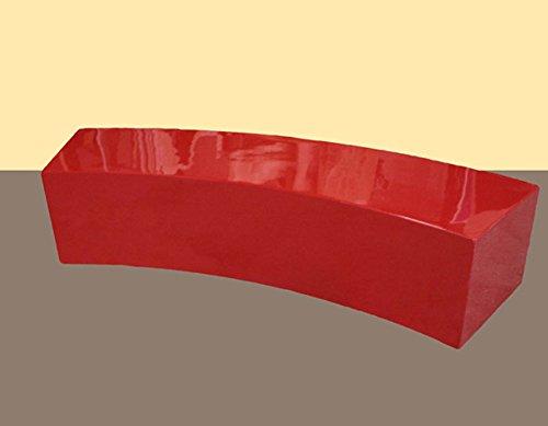 Walt-Deko Banc Design en Fibre de Verre de qualité supérieure pour l'extérieur 55 cm