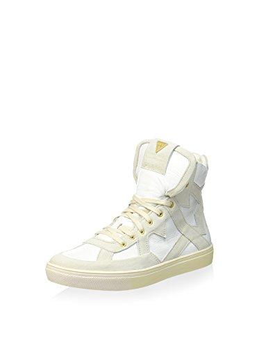Bottes Sneaker À Lacets Guess Pour Femme Ivoire / Blanc