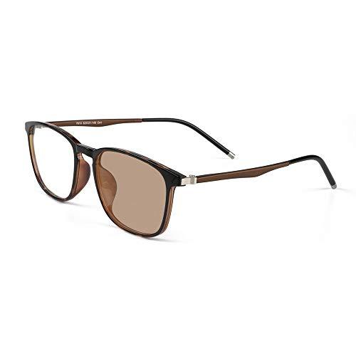 Übergang photochrome progressive Lesebrille Computer Reader Retro Nerd Multi Focus keine Linie allmähliche Varifocal UV400 Sonnenbrille