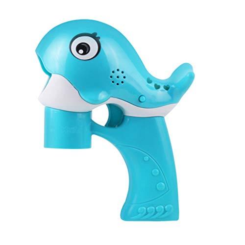 Cardith Kinder Blasen Maschinen elektrisches Spielzeug Nettes Wal mit Tönen und Musik -