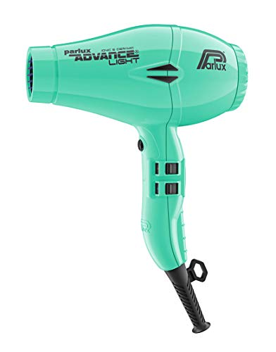 Parlux Advance Light - Secador de pelo ionico, Turquesa