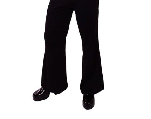 XXL, schwarz) (70er Jahre Männer Outfits)