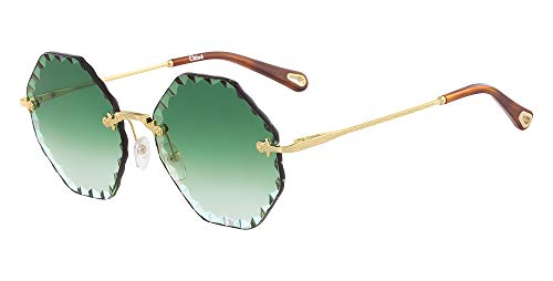 Occhiali da sole chloe ce143s 38114 // 836 gold/gradient green
