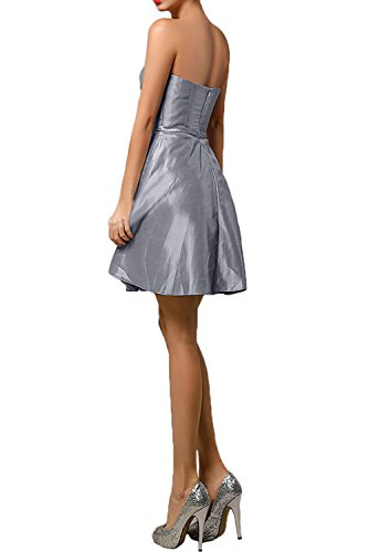 Gorgeous Bride Hochwertig Trägerlos Empire Mini Taft Abendkleider ...