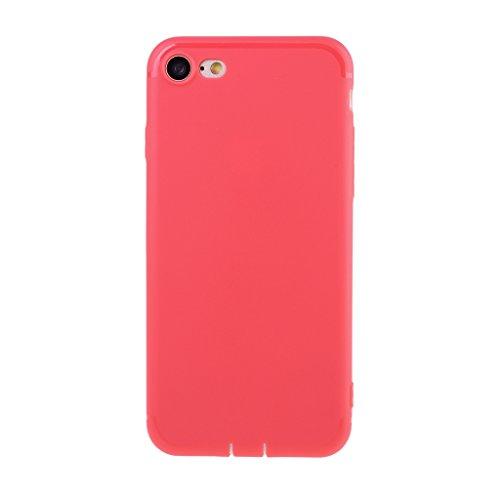 iPhone 7 Hülle,iPhone 7 (4,7 Zoll) Silikon Hülle,Mo-Beauty® iPhone 7 Klare Ultradünne Silikon Gel Schutzhülle Durchsichtig,Bunte Malerei Painted Muster Transparent TPU Sillikon Weich Ultra Thin Handyt A
