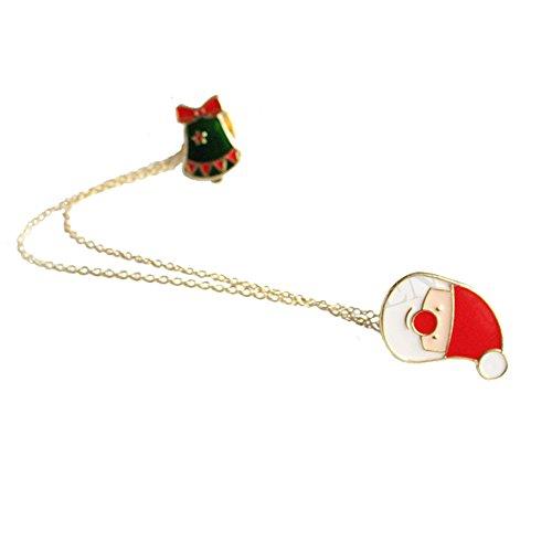 eihnachten Legierung Dek Frauen Brosche/Herren Brosche Anzug Brooch / Hochzeit Dekoration/ Geburtstags Geschenk Pin,1 Stuck (Santa ) (Santa Anzug Für Frauen)