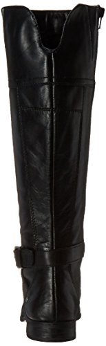 Marc Fisher Amber Wide Calf Rund Leder Mode-Knie hoch Stiefel Black/Wide Calf