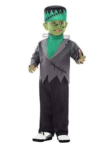 Atosa - Disfraz Monstruo para niño bebé - talla color, verde, 12 a 24 meses (55680)