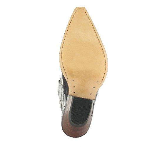 Sendra boots bottes 3241 westernstiefel cowboystiefel (différents coloris & les variantes) Marron - Tierra Pyton Panizo