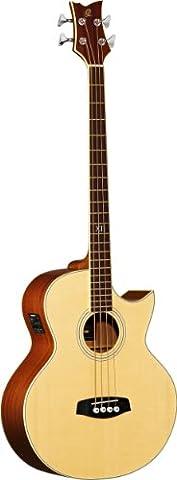 Ortega D1-4 4 String Deep Series Acoustic Bass Guitar