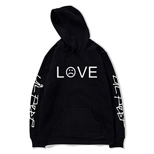 Unisex: Lil Peep Hoodie Love Printed Sport Hip Hop Hoodie Sweatshirt mit Taschenjacke Pullover ()