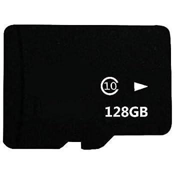 Memory SD TF Card Class 10 Tarjeta de Memoria Flash con Adaptador SD para Teléfonos Móviles, Tablet PC, cámaras 128 GB