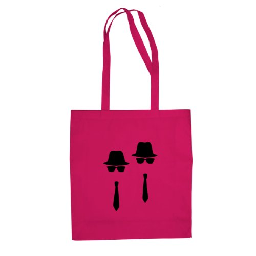 Blues Brothers - Stofftasche / Beutel Pink