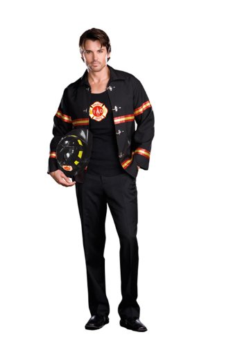 Smokin' Hot Fireman Costume Adult X-Large (Herren Ems Pant)