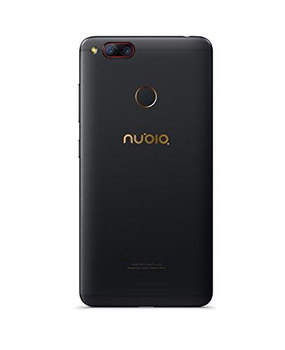 Nubia Z17 Mini Smartphone  Qualcomm Snapdragon 652 Octa Core  5 2  FHD 1920x1080p  4G  13 13Mpx y frontal 16Mpx  4GB de RAM  64GB de ROM  Negro  Oro
