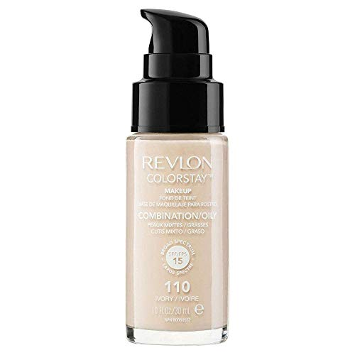 Revlon ColorStay Makeup for Combi/Oily Skin Ivory 110, 1er Pack (1 x 30 g)