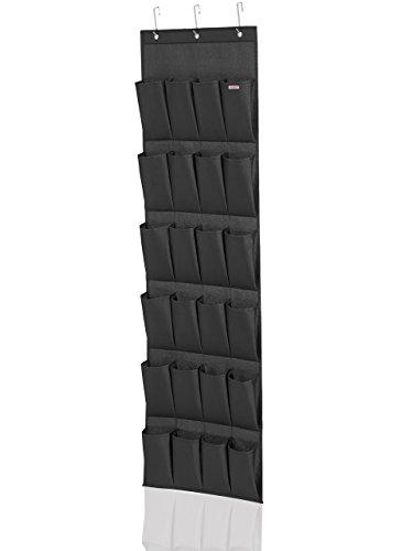 Leifheit Organizer, Stoff, schwarz, 26 x 4 x 46 cm