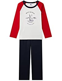 Petit Bateau Lounes, Ensemble de Pyjama Garçon
