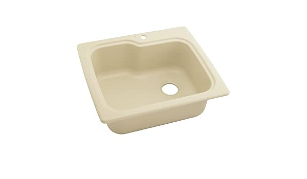 Swanstone kssb-2522 (037) 22,9 cm Tief single-bowl als Küche Spüle ...