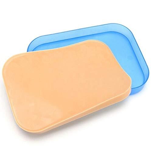 LUCKFY Suture Pad - Nahtmaterial-Kit für die medizinische Ausbildung und das Nähen in der Praxis - Chirurgisches Hautmodell für die studentische Krankenschwester -