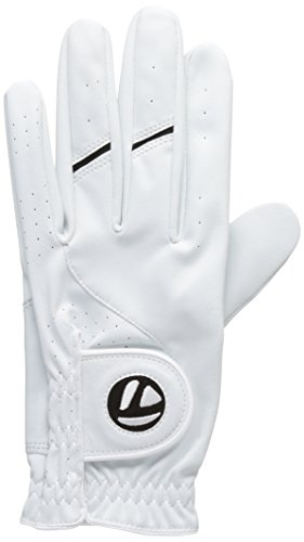 TaylorMade All Weather Gant de golf (homme main gauche), couleur Blanc M