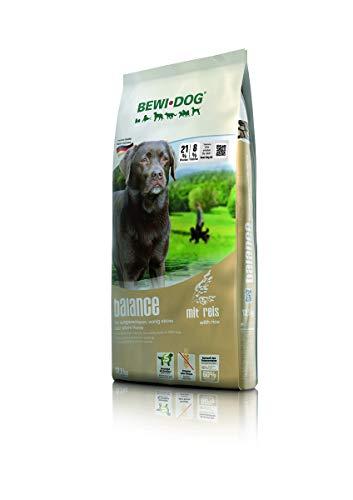 BEWI DOG Balance [12,5 kg] Hundefutter | Trockenfutter für übergewichtige & ältere Hunde | ohne Weizen & Soja | 80% tierisches Eiweiß