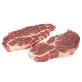 Carré de bœuf - Viande - Porc - Steak d'échine de porc - 2 x 180g - Livraison en colis réfrigéré 48h