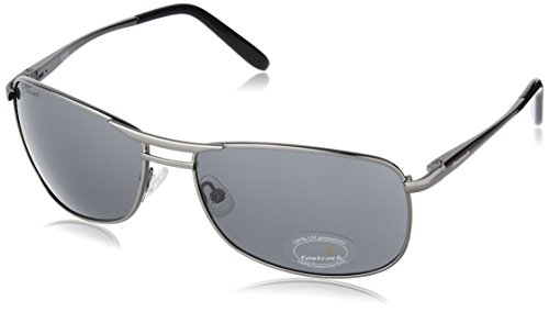 Fastrack Semi-Rimless Men\'s Sunglasses - (M032BK2|72|Black)