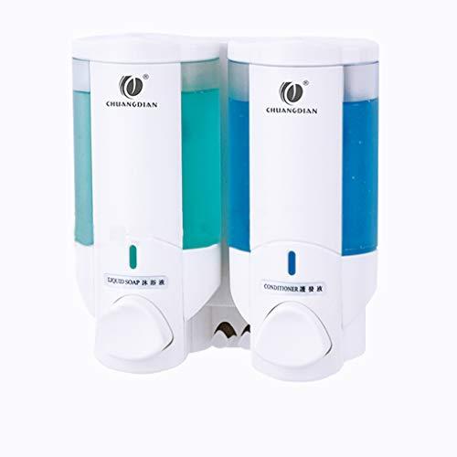 Zerama Home Hotel Bad Duschraum Wandhalterung Pumpe Lotion Flüssigseifen-Behälter Spender Shampoo Box CHUANGDIAN -