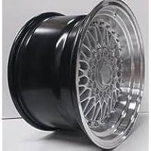 2 ruedas de aleación BBS RS,16x 9.0Hyper Silver Greggson (GG-09-CC)