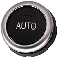 Uzinb Aire Acondicionado Perilla de reemplazo de Accesorios 61319393931 ABS para BMW F10 / F18 / F07 / F1 / F16