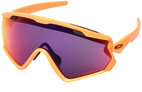 Oakley Herren Sonnenbrille Wind Jacket 2.0, Orange (Matte NEON Orange), 0 mm