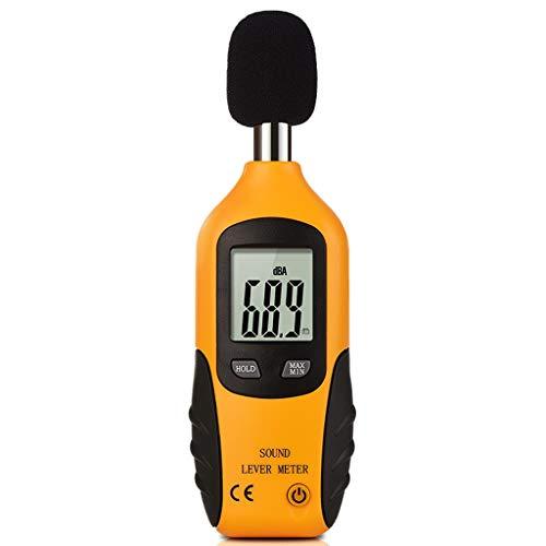 Xxw lamp Handheld High Sensitivity 0,5 Sekunden Schnelle Antwort Decibel Tester Geräuschdetektor Home Decibel Meter