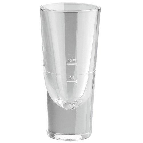 Bormioli Rocco 156739F Bistro Aperitif, 148 ml, mit Füllstrich bei 2cl + 4c, Glas, transparent, 6 Stück