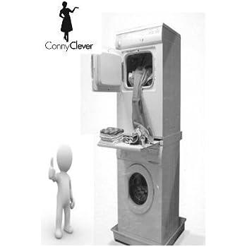 verbindungsrahmen mit arbeitsplatte f r waschmaschine trockner elektro gro ger te. Black Bedroom Furniture Sets. Home Design Ideas