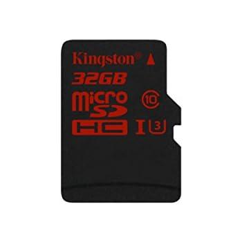 Kingston SDCA3/32GB Scheda MicroSDHC/SDXC UHS-I U3 90R/80W (SDCA3)