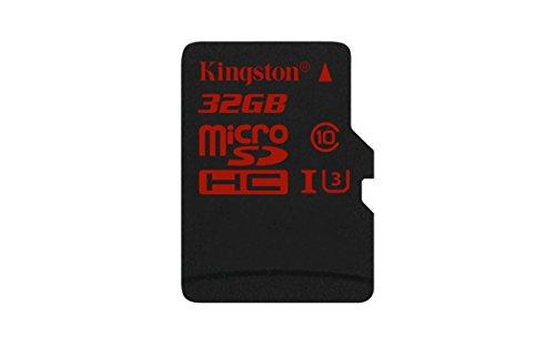 Kingston SDCA3/32GB microSDHC/SDXC 32GB Speicherkarte (UHS-I U3, 90R/80W)