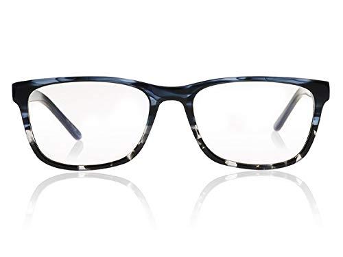 Reluxer Computerbrille ohne Sehstärke Travis // Nebula Blue - Mit Kwaliteits Blaulichtfilter - Augenschutz, zu Hause und auf Arbeit. Relux deine Augen! - Travis Brillen