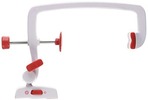 Nähmaschinen-Lupe, Weiß und Rot (Einzigartige Vibrations-dämpfer)