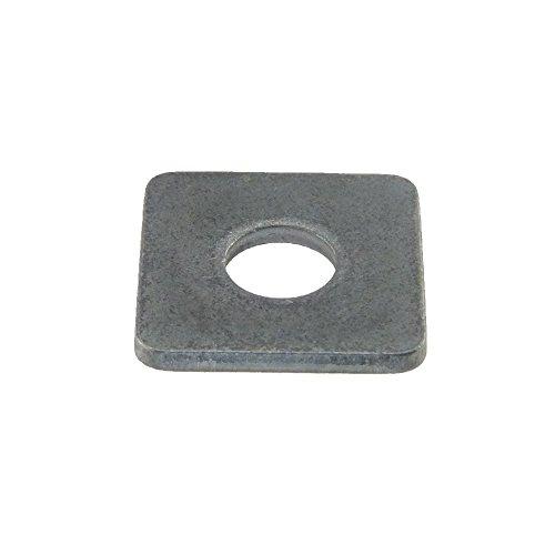 Scheibe DIN 436 Stahl blank vierkant 26 - 50 Stück