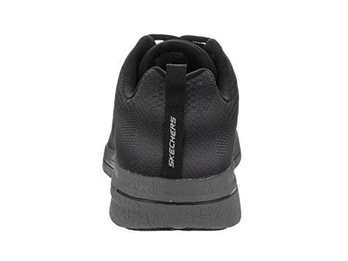 Skechers Burst 2.0 Synthétique Baskets Black-Charcoal