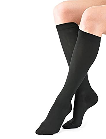Neo G Travel & Flight Compression Socks - Unisex, Medical Grade True Graduated Compression, incredible everyday comfort, knee high, dress socks, help energize tired, aching, swollen legs, aid circulation by Neo-G