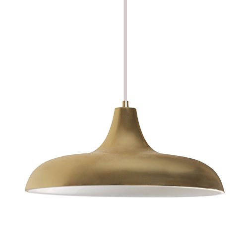 Diolumia suspension moderne de plafond m tal or for Table suspendue au plafond