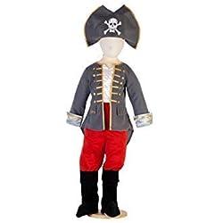Disfraz de capitán pirata para niño, (5 años)