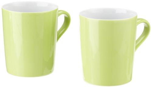 Arzberg TRIC Lot de 2 mugs à anses 0,31 L Vert