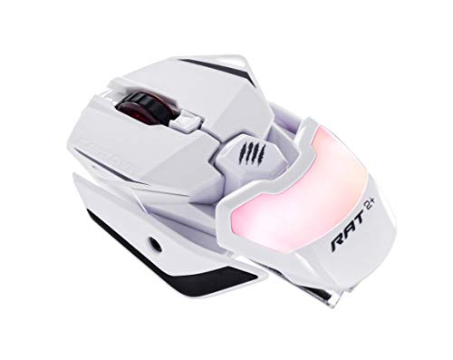 MadCatz R.A.T. 2+ Optical Gaming Mouse, White