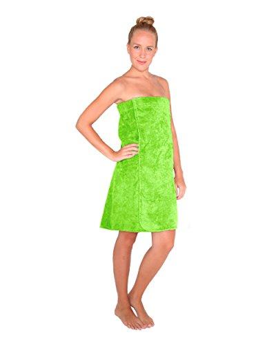 Arus-Saunakilt-Damen, Größe: L/XL, Farbe: Hellgrün