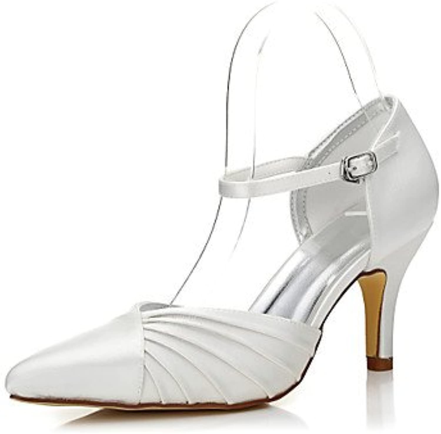 Zormey Women'S Wedding Shoes Spring Fall Club Shoes Comfort Dyeable Shoes Silk Wedding Outdoor Office &Amp; Career...